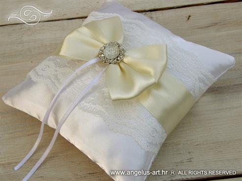 "Jastučić  ""Cream Bow"""