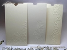 case envelope with embossing pattern