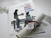 Pozivnica za vjenčanje - Film story Bombonjera