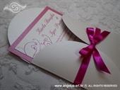 Pozivnica za vjenčanje Pink Mini Beauty