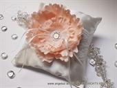 Jastučić za prstenje Coral Flower
