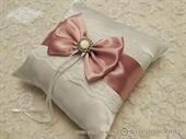 Jastučić za prstenje Pink Bow