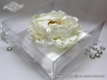 White Flower pillow for rings