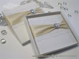 Stylish White Lace Prstenje