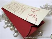 Pozivnica za vjenčanje - Bookmark Line Charm