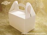 Bijela kutija za kolače (manja)