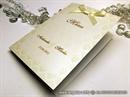 Preklopni jelovnik za svadbenu svečanost  Golden Damask