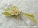 Kitica i rever za vjenčanje Krem ruža