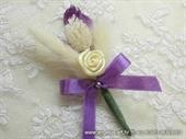 Kitica za rever za goste vjenčanja - Natural Rose