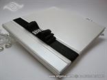Luxury Guestbook Dark Bow