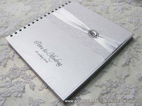 Silver Guestbook