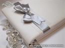 Knjiga gostiju za vjenčanje Srebrna mašna