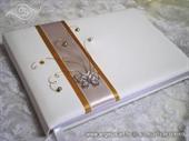 Knjiga gostiju za vjenčanje Leptirov let - golden