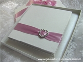 Wedding ring pad - Pink Heart