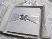 Knjiga za vjenčano prstenje Broš bijeli leptir