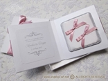 knjigica za prstenje roza traka 6725