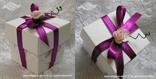 konfet kutijica s ciklama mašnomi rozom ružicom