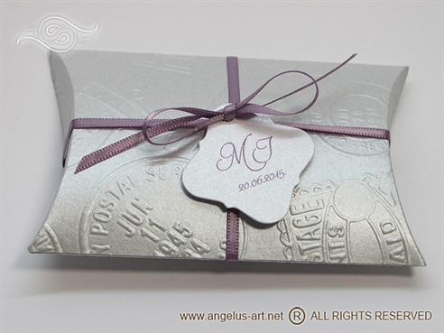 Silver Pillow Box