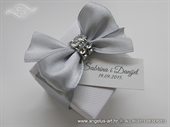 Gift for wedding guests - Silver Bow