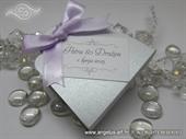 Konfet za vjenčanje - Lavanda Lilac Silver