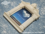 konfet magnetni okvir s anđelom za krštenje