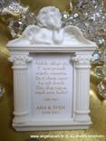 konfet magnetni okvir s anđelom za vjenčanje