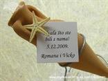 konfet mini amfora za vjenčanje morska zvijezda