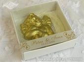 Konfet za vjenčanje Zlatni anđeo - magnet