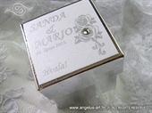 Konfet za vjenčanje - Konfet Silver Rose