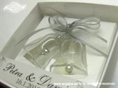 Konfet za vjenčanje Konfet stakleni zvončići