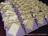 konfeti lavanda ljubičasto krem