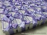 konfeti lila masna u kutijici bijeloj