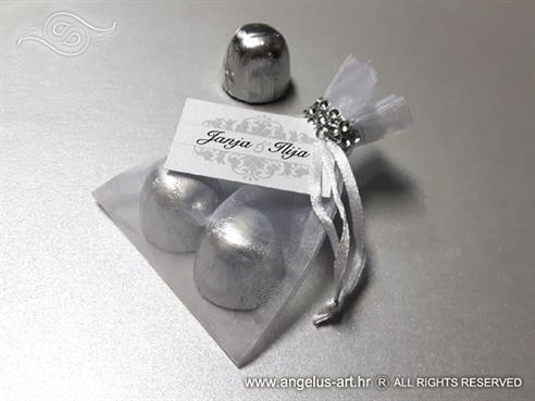 Silver Bomboniere