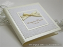 Zahvalnica za vjenčanje Exclusive Cream Book