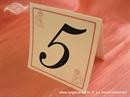 Broj stola za vjenčanje - Rozi anđeo