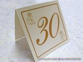 Broj stola za svadbenu svečanost - Golden Angel