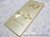 Menu za svadbenu svečanost - Golden number