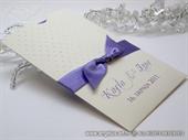 Zahvalnica za vjenčanje Purple Dots