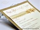Pozivnica za vjenčanje Cream Fairy Tale