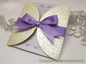 Pozivnica za vjenčanje  - Lilac Royal Diva
