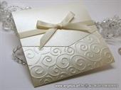 Pozivnica za vjenčanje - Classic Pearly Beige