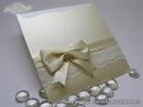 Pozivnica za vjenčanje - Cream Lace Charm