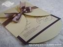 Pozivnica za vjenčanje Dark Beauty