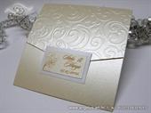 Pozivnica za vjenčanje Classic Cream