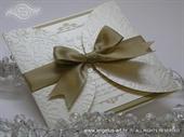 Pozivnica za vjenčanje - Romantic Golden Diva