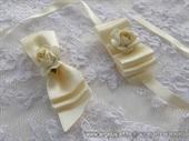 Kitica i rever za vjenčanje Cream Beauty