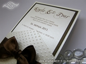 Pozivnica za vjenčanje Destiny Exclusive Brown