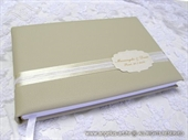 Wedding guestbook - Golden guestbook