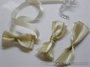 Kitica za rever za vjenčanje - Cream Gold Elegance