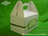 kutija za dijeljenje kolača na vjenčanju zelena
